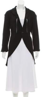 Issey Miyake Knit Distressed Cardigan