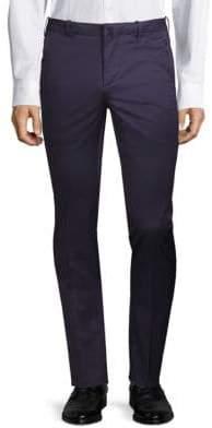 Corneliani Straight-Fit Cotton Dress Pants