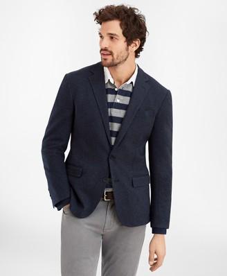 Brooks Brothers Regent Fit Two-Button Herringbone Knit Sport Coat