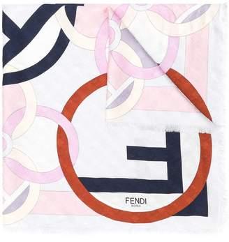 Fendi F Is Foulard scarf