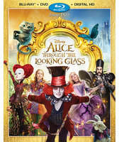 Disney Alice Through the Looking Glass Blu-ray Combo Pack