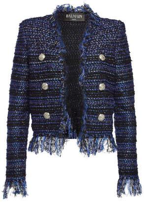 Balmain Tweed Jacket with Sequins