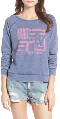 Women's Junk Food Mtv Sweatshirt $88 thestylecure.com