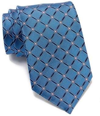 BOSS Silk Circle Lattice Tie