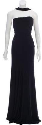 Rachel Zoe Ruched Maxi Dress