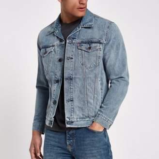 Levi's light blue denim trucker jacket