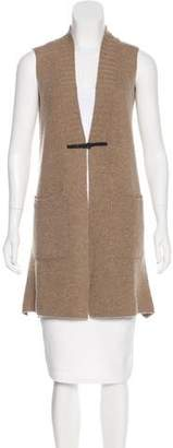 Cividini Wool Sleeveless Cardigan