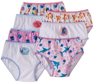 Disney Finding Nemo Dory Girls Underwear Panties 7 Pack Sizes-8
