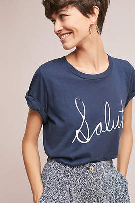 Anthropologie Salut Tee $58 thestylecure.com