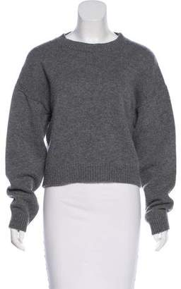 Anthony Vaccarello Virgin Wool & Cashmere Sweater