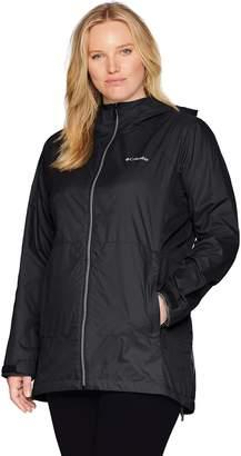 Columbia Women's Plus Size Switchback Lined Long Jacket
