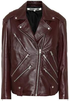 McQ Leather motorcycle jacket