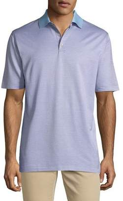 Peter Millar Men's Honey Run Jacquard Crown Ease Polo Shirt