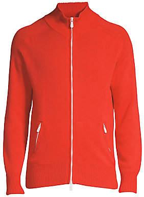 Eleventy Men's Cashmere Full Zip Sweater