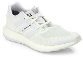 Y-3 Pureboost Mesh & Suede Sneakers $320 thestylecure.com