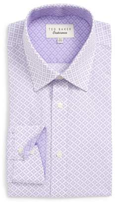Ted Baker Trim Fit Solid Dress Shirt