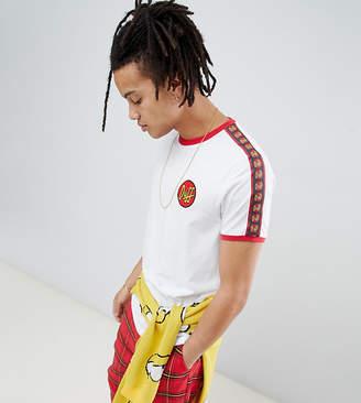 The Simpsons Asos Design x ASOS DESIGN Duff t-shirt with taping