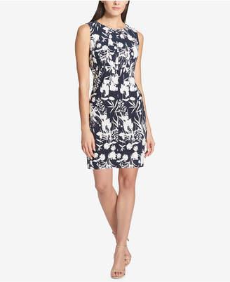 Tommy Hilfiger Floral-Print Scuba Dress