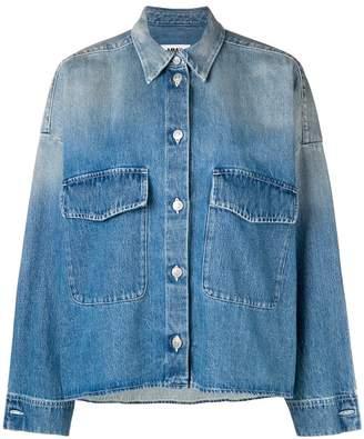 MM6 MAISON MARGIELA washed oversized denim jacket