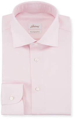 Brioni Ventiquattro Twill Dress Shirt