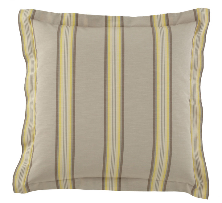 "Legacy Sussex Stripe European Sham, 26""Sq."