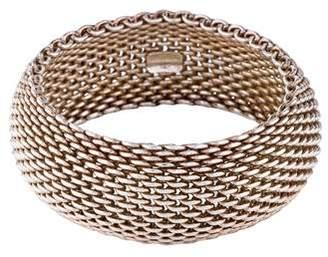 Tiffany & Co. Somerset Wide Bracelet
