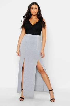 ea74b21514e Long Jersey Skirt Gray - ShopStyle Canada