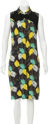Proenza Schouler Printed Knee-Length Dress