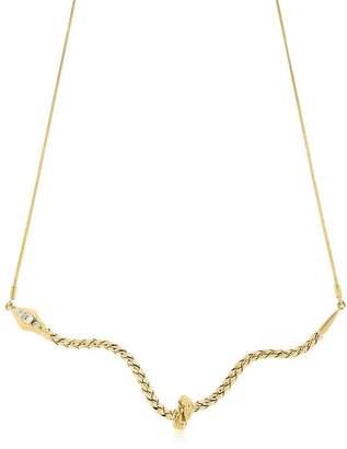 Snake Knot Necklace