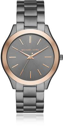 Michael Kors Grey Slim Runway Men's Watch