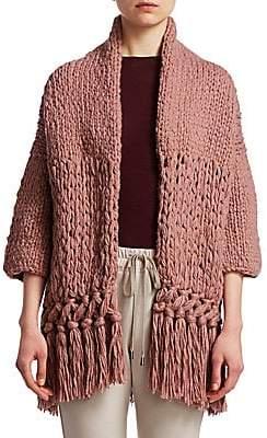 Gentry Portofino Women's Chunky Knit Cardigan