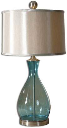 Uttermost 'Meena' Blue Blown Glass Table Lamp