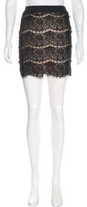 Style Stalker StyleStalker Lace Mini Skirt