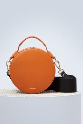 Jil Sander Drum leather bag