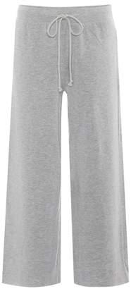 Velvet Avalyn cropped wide-leg trousers
