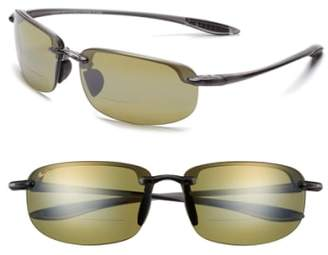 Maui Jim Ho'okipa 64mm PolarizedPlus2(R) Rimless Reader Sunglasses