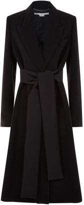 Tie Detail Coat