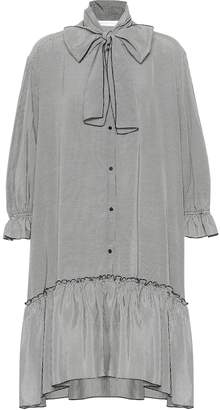 See by Chloe Gingham shirt dress