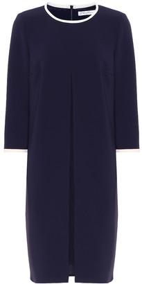 Max Mara Azulene crepe dress