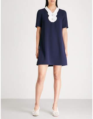 Claudie Pierlot Embellished crepe dress