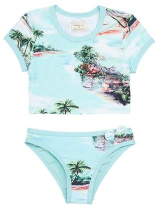 O'Neill x Hello Kitty Two-Piece Swimsuit
