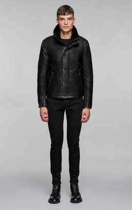 Mackage WILLARD water-repellent leather jacket