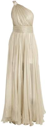 Maria Lucia Hohan Calista one-shoulder silk-mousseline gown