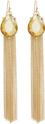 Jardin Pear Drop Fringe Earrings