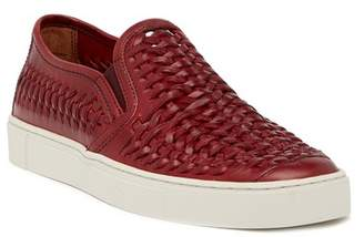 Frye Gabe Woven Leather Slip-On