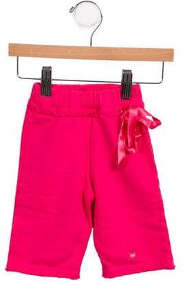 Lili Gaufrette Girls' Bow Accented Pants w/ Tags