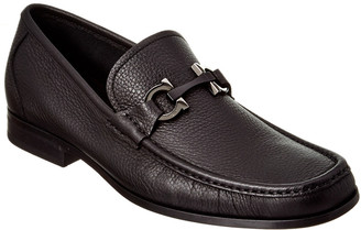 Salvatore Ferragamo Gandioso Gancio Bit Leather Moccasin