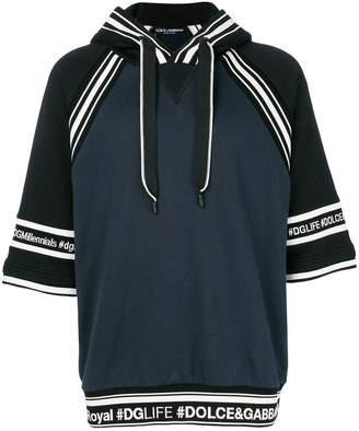 Dolce & Gabbana band logo hoodie