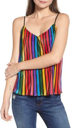 Show Me Your Mumu Rainbow Parade Pleat Camisole