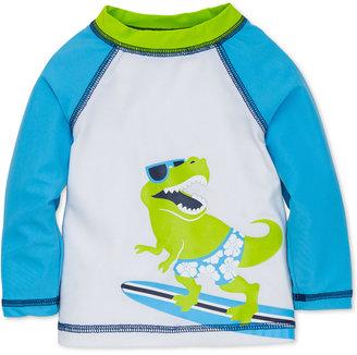 Little Me Surfing Dinosaur Rashguard Swim Top, Baby Boys (0-24 months) $25 thestylecure.com